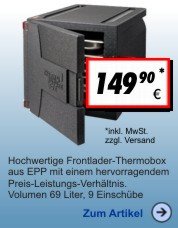 Thermobox Frontlader 69 Liter Eco