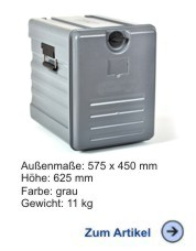 Thermobox Frontlader Avatherm 600 ECO