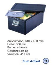 Thermobox Gastronorm Schwerlast 1/1 230mm